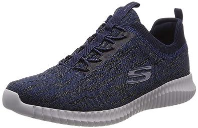 Skechers Elite Flex Hartnell Mens Slip On Sneakers Navy 8 90b717901d
