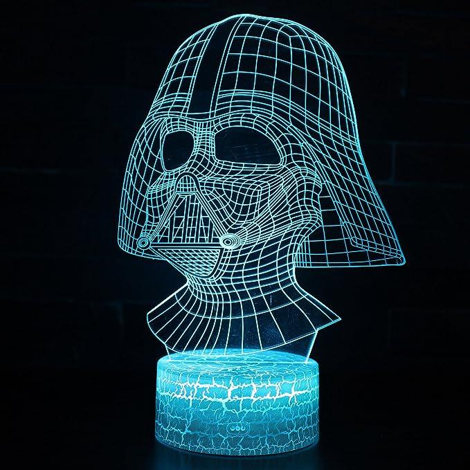 Amazon.com: Lámpara de escritorio LED con iluminación óptica ...