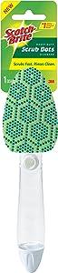 Scotch-Brite Scrub Dots Heavy Duty Dishwand, Scrubs Fast. Rinses Clean.