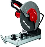 Einhell TH-MC 355 - Tronzadora (potencia 2000 W, 3000 rpm, diámetro disco: 355 x 25,4 mm) color gris y rojo