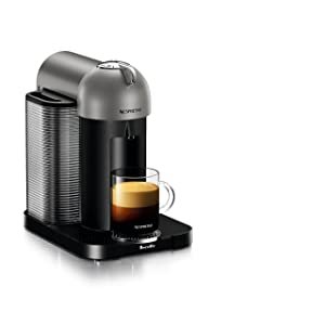 Nespresso Vertuo Coffee and Espresso Machine by Breville, Titan
