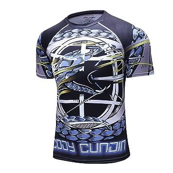 0c0b7320f07e2e Colorfulworld Herren Spider Monster Radfahren Kurze ärmel Jersey Hemden  Radsport T-Shirts
