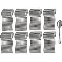 COM-FOUR® 96x cuchara de cóctel hecha, cuchara