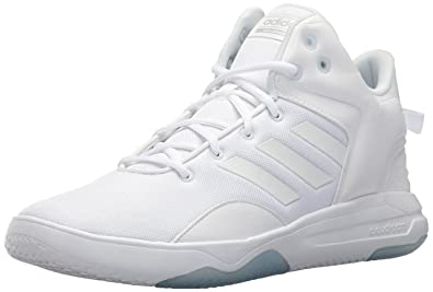 online store 9eb1f 4ff70 adidas Neo Mens CF Revival Mid Basketball Shoe, WhiteWhiteGrey Two,