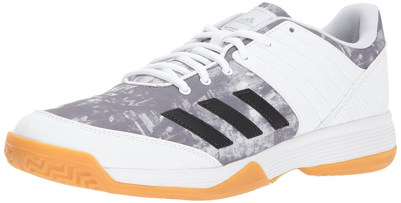 adidas Women's Ligra 5 W Tennis Shoe B01N6GKU02 10.5 B(M) US|White/Metallic Silver/Metallic Silver