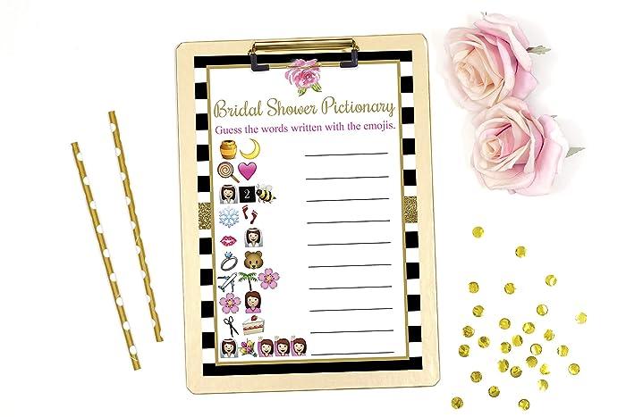 bridal shower pictionary bridal shower emoji black and white bridal shower bridal shower