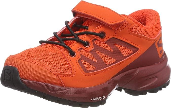 Salomon XA Elevate K, Zapatillas de Running Unisex Niños, Rojo (Cherry Tomato/Red Dahlia/Black Cherry Tomato/Red Dahlia/Black), 30 EU: Amazon.es: Zapatos y complementos