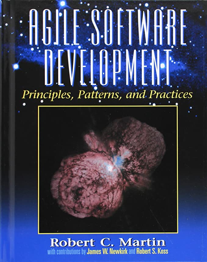 Agile Software Development, Principles, Patterns, and Practices (Alan Apt Series)