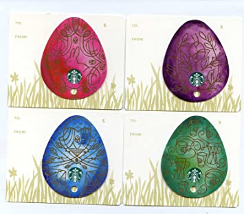 Amazon starbucks 2016 easter egg collectible gift card set starbucks 2016 easter egg collectible gift card set negle Gallery