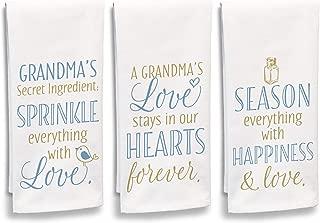 product image for Imagine Design Secret Ingredient, A Grandma's Love, Season Everything 3Pc Towel Set, Multi