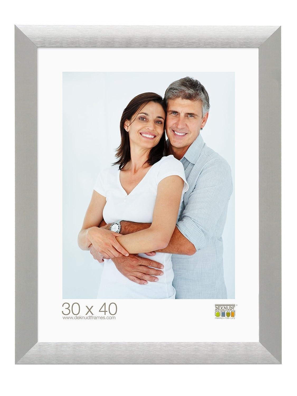【即出荷】 Deknudt Frames Frames S023D1 30x40 S023D1 Photoframe シルバーメタル Photoframe B005C3MZPI, YASORA:c4d5deb3 --- martinemoeykens.com