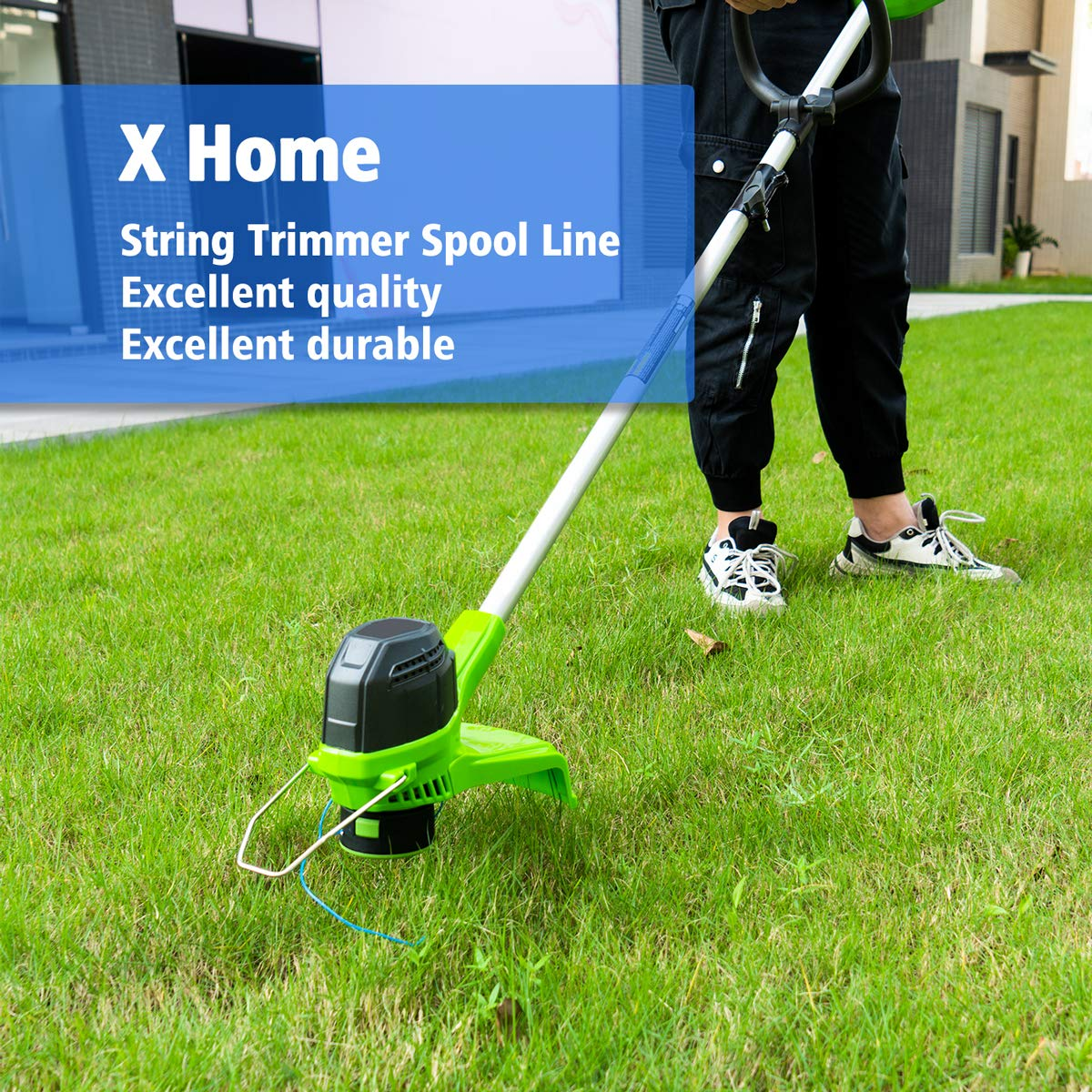 X Home Weed Eater String Spools Compatible with Greenworks G-max ...