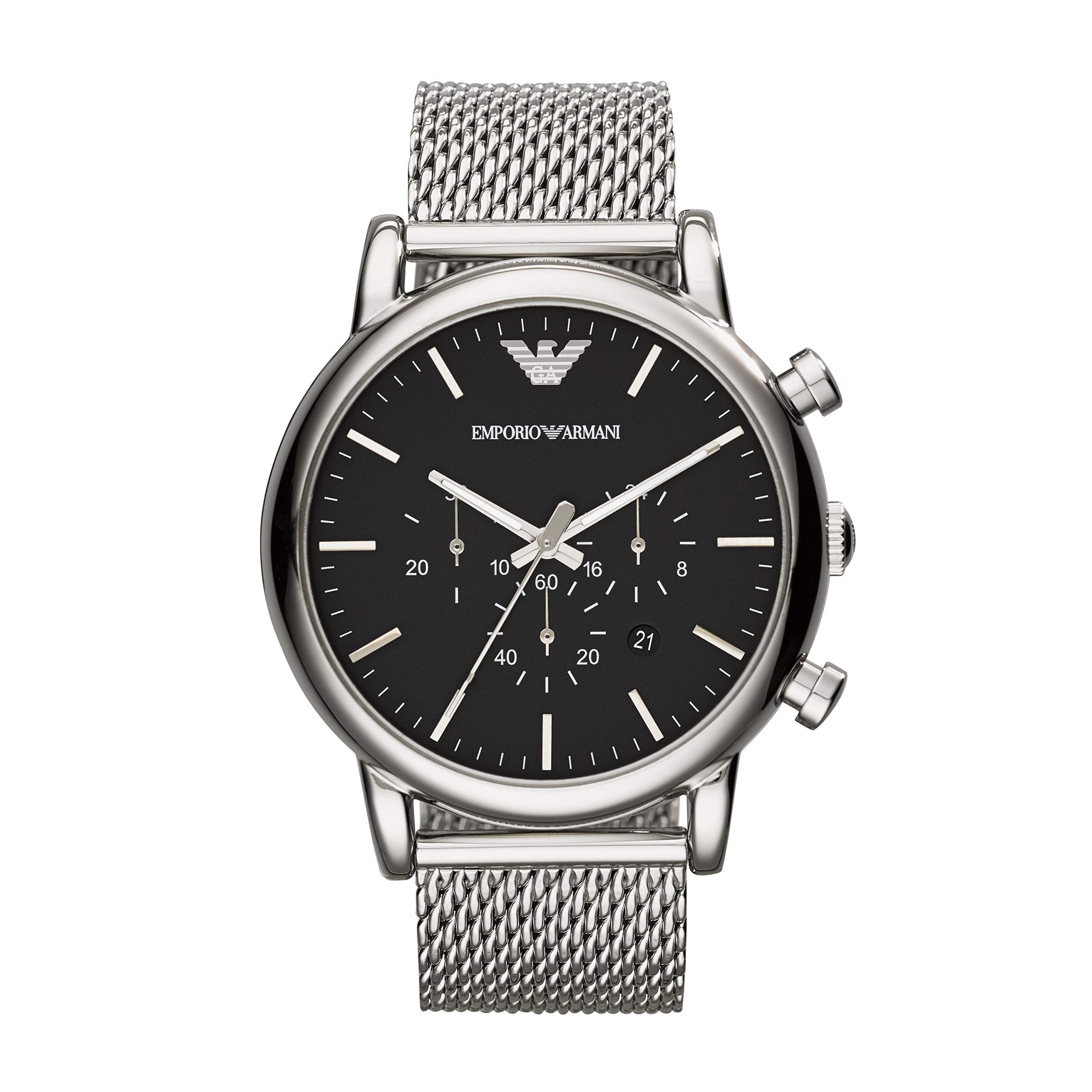 Emporio Armani Men's Chronograph Dress Watch With Quartz Movement