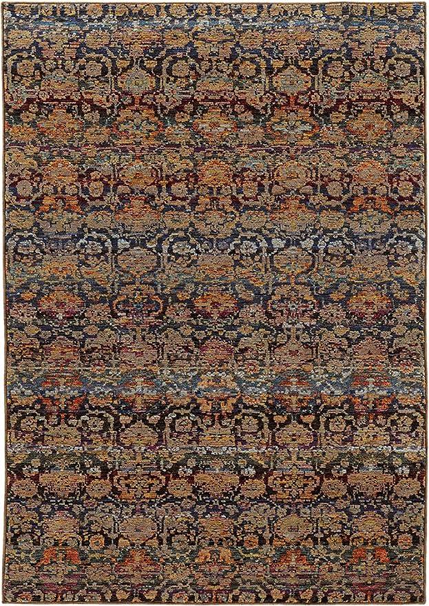 Amazon.com: Oriental Weavers Andorra 6836 C Interior área ...