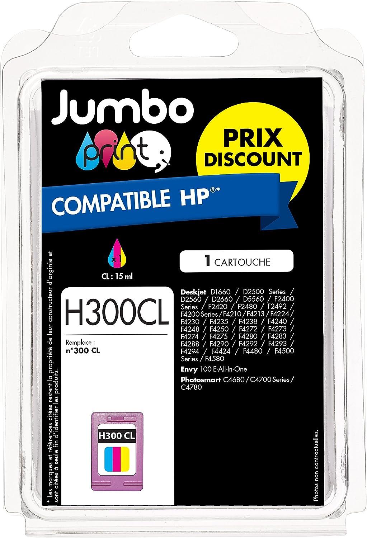 Jumbo Print JP012451 - Cartucho de tinta, compatible: Amazon.es: Oficina y papelería