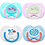 Philips AVENT Soother Fashion 0-6m - SCF172/18 - COLOURS/DESIGNS MAY VARY (PACK OF 1, 2 SOOTHERS)