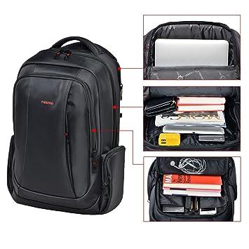 Slotra Laptop Rucksack 15.6 Zoll Herren Student Outdoor Business  Wasserabweisend Diebstahlschutz Kaffebraun  Amazon.de  Koffer, Rucksäcke    Taschen 608493453f