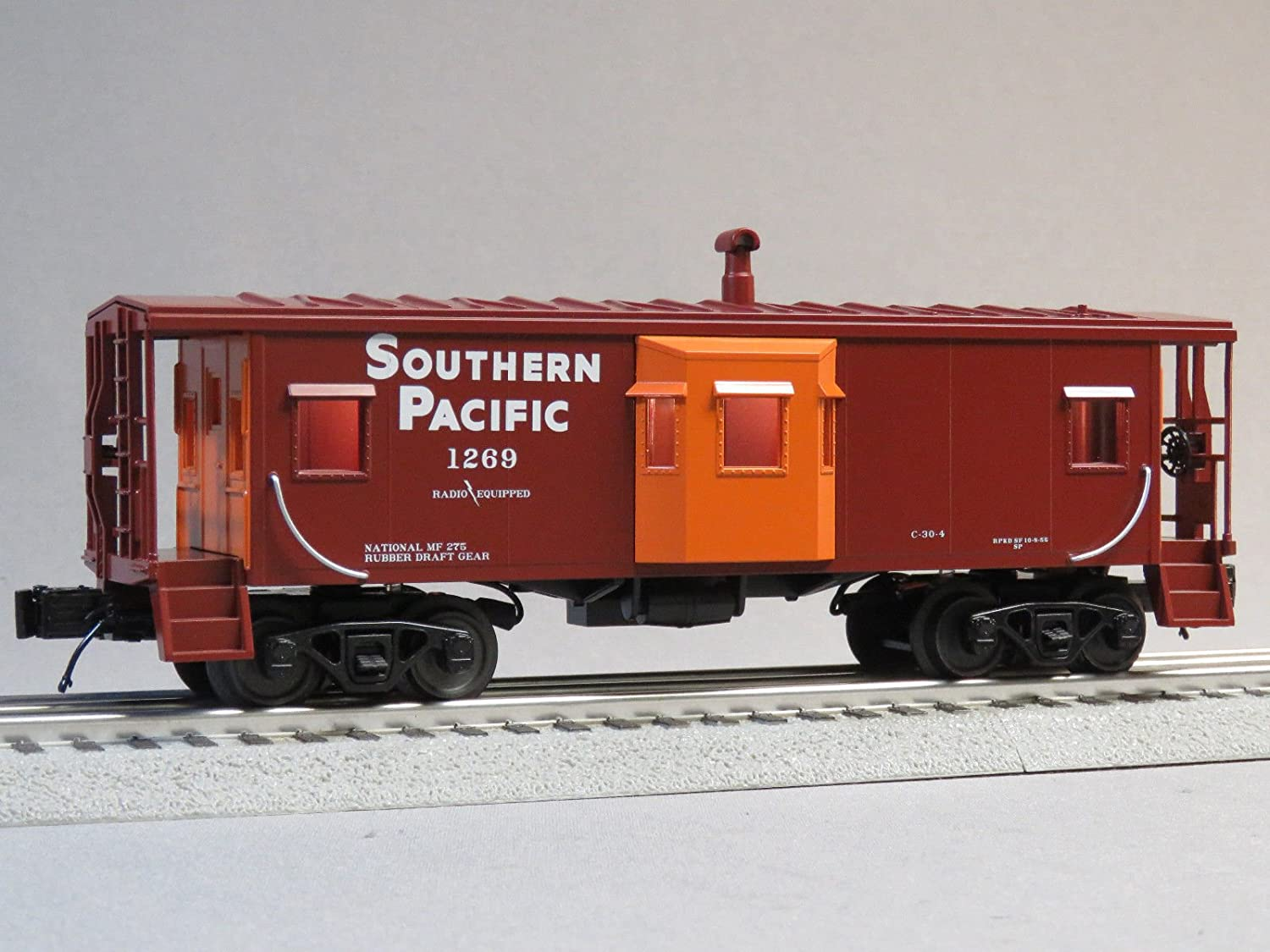 MTH Rail King Southern Pacific Caboose # 1269 Oゲージ B079LWZX7R