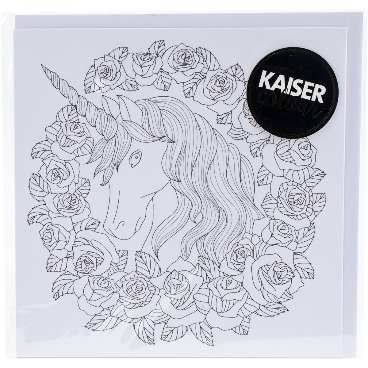 Kaisercraft Unicorn Kaisercolour Gift Card with Envelope, 6