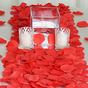 Amazon 2000 silk rose petals wedding decorations bulk supplies 2000 silk rose petals wedding decorations bulk supplies red junglespirit Image collections