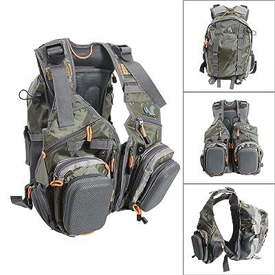 M MAXIMUMCATCH Maxcatch Fly Fishing Vest Pack