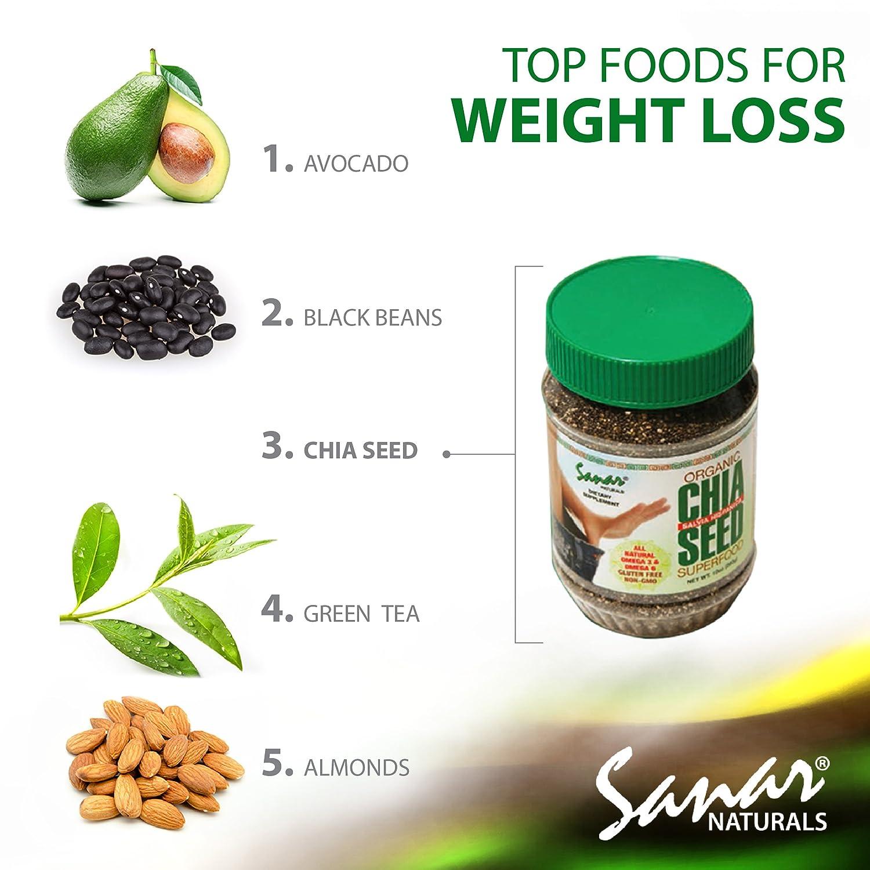 Sanar Naturals Organic Black Chia Seed, 10 Ounce - Semillas de Chia, Raw, Gluten Free, Non-GMO