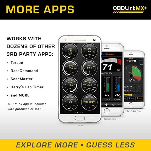 OBDLink MX+ is one of the best OBD2 Scanner for iPhone, iPad, Android, And Windows