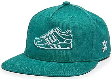 cd45e0df81f adidas Originals Snapback Flat Brim Equipment Womens Baseball Cap Hat One  Size