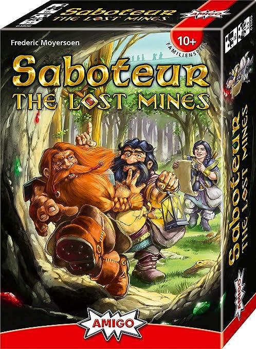 AMIGO Spiel + Freizeit 01800 - Saboteur - The Lost Mines: Amazon.de:  Spielzeug