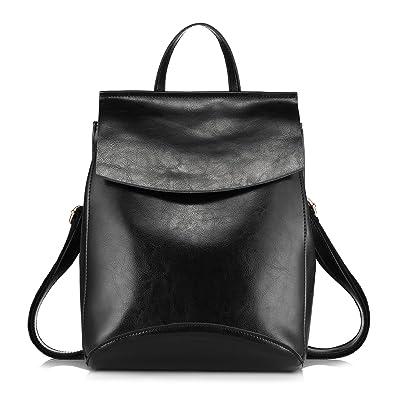 Realer Leather Convertible Purse Backpacks for Women Shoulder Bag ...