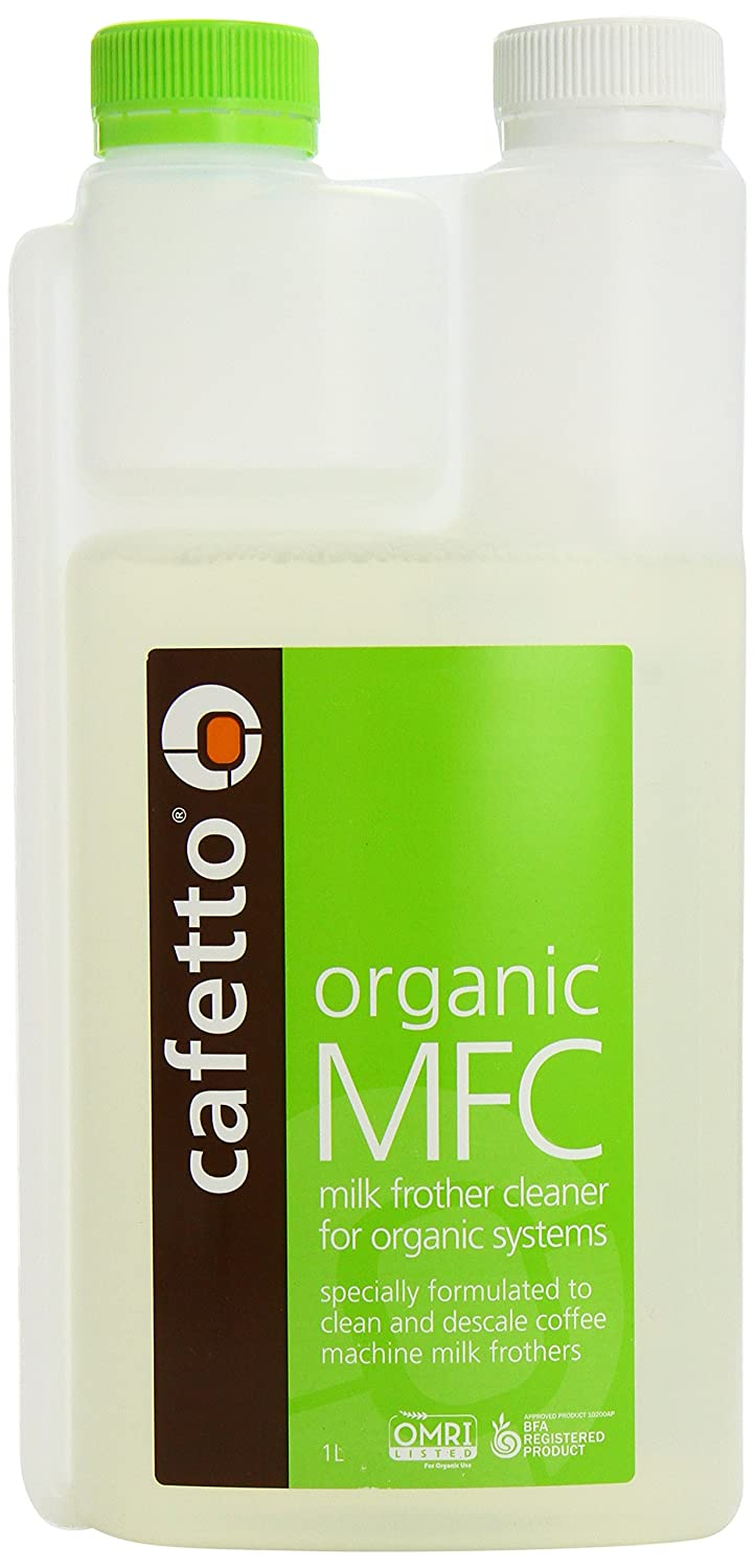 Cafetto Organic Milk Frother Cleaner 1 Litre 23215
