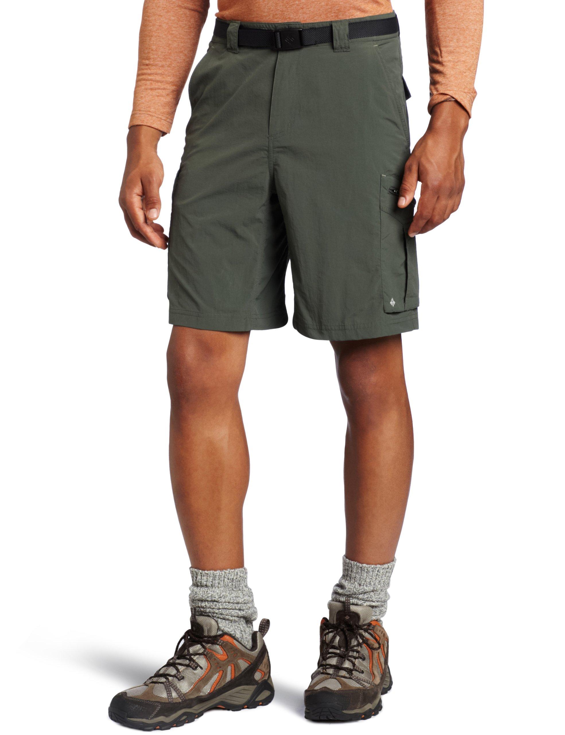Columbia Men's Silver Ridge Cargo Short, Gravel, 44 x 10