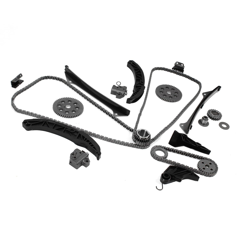Fits : 2006-13 HYUNDAI/KIA 3 3L 3 5L 3 8L V6 DOHC G6DB G6CD/DC G6DA Brand  New Timing Chain Kit & Oil Pump Drive Set