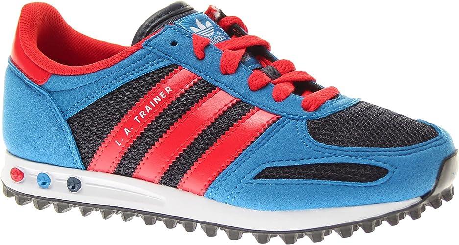 Sofocante Confinar Cerebro  Adidas Trainers Shoes Kids La Trainer K Blue: Amazon.co.uk: Shoes & Bags