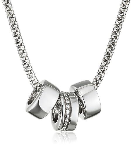 Hot Diamonds Trio Silver Popcorn Pendant KxvG5IvWT