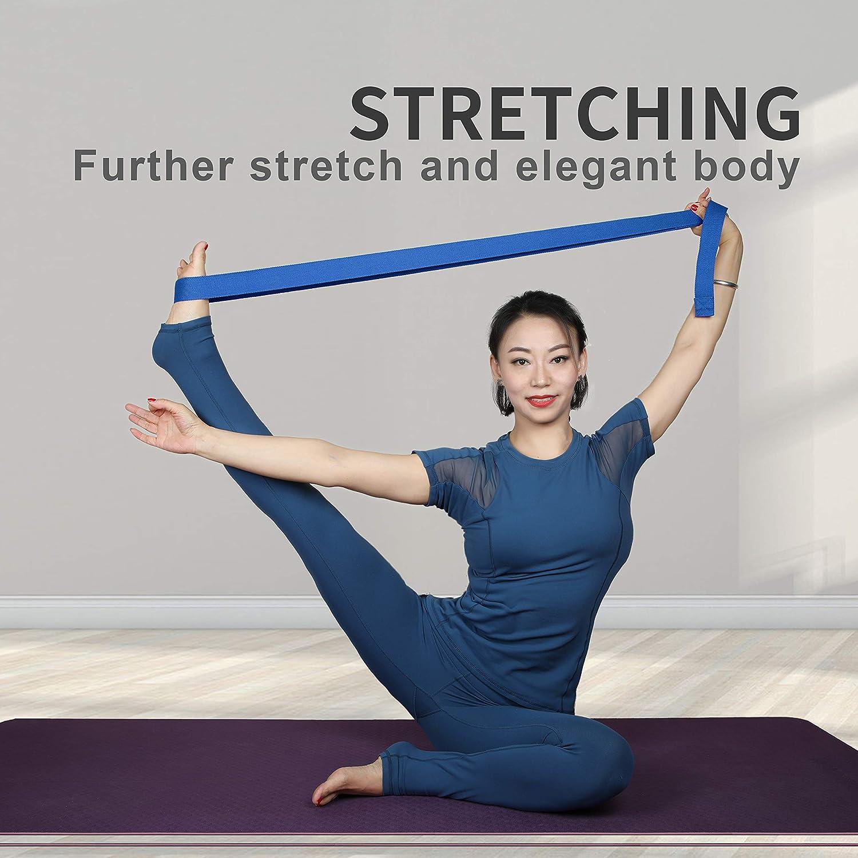 Amazon.com: Proiron - Correa de yoga ajustable con hebilla ...
