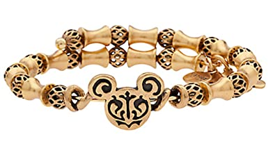 10330c3b9 Disney Parks Mickey Mouse Filigree Wrap by Alex and Ani - Tubes and Spheres  Metal Beads