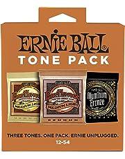 Ernie Ball 3313 Acoustic Guitar String Tone Pack, Medium Light