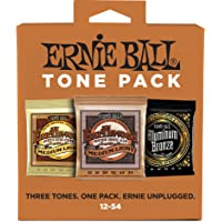 Ernie Ball Medium Light Acoustic Tone Pack - 12-54 Gauge