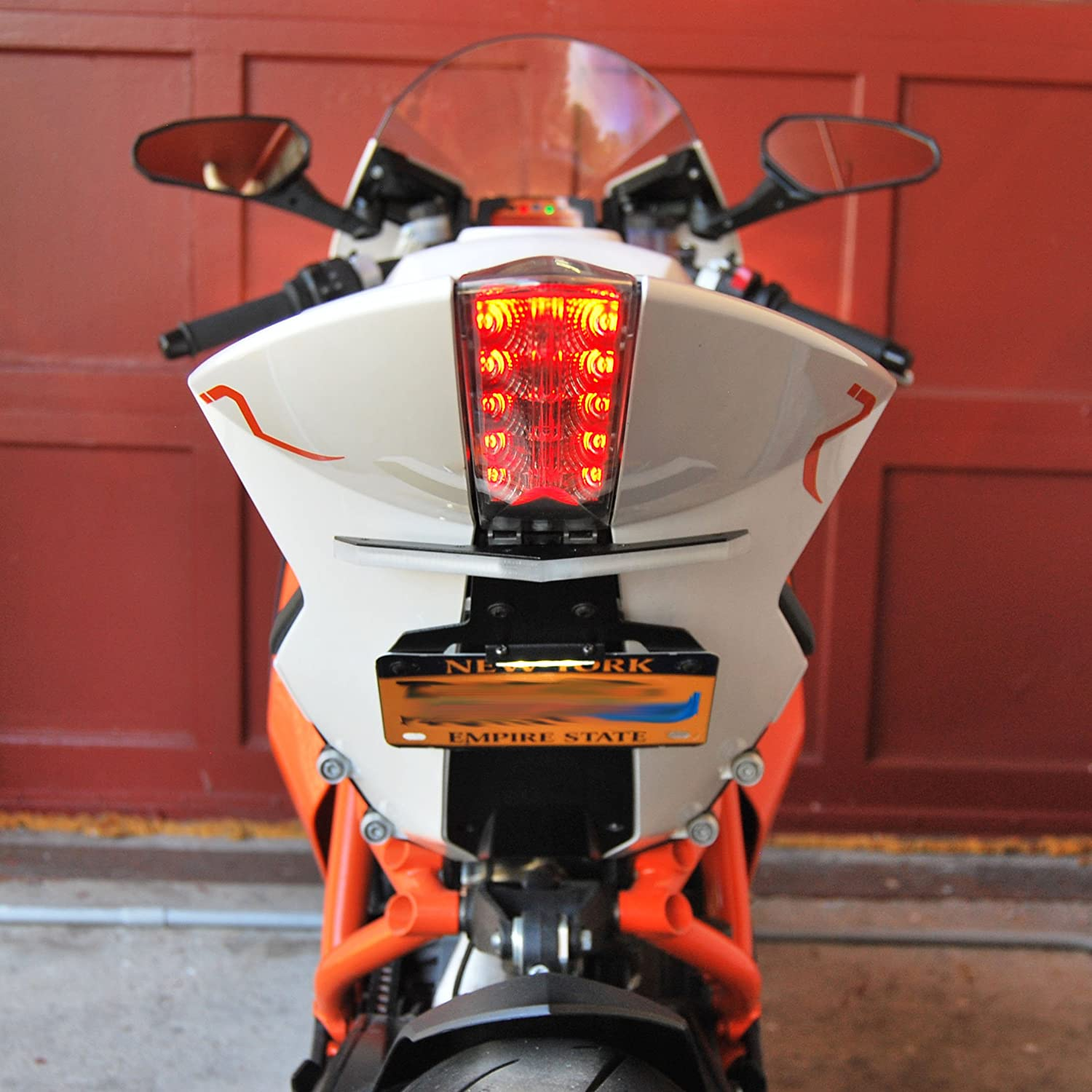 New Rage Cycles KTM RC8 Fender Eliminator