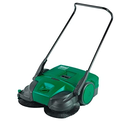 Bissell 2012 Big Green profesional escoba, Manual, no requiere corriente, apta para uso