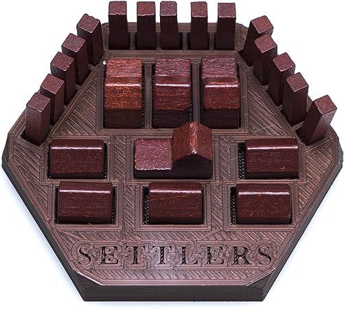 Solid Factory Extensión para Soporte de Piezas de Color Catan/Organizador (Juego de 2 – Verde y marrón): Amazon.es: Hogar