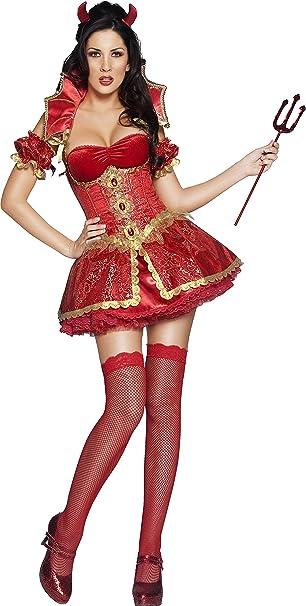 Smiffys - Disfraz de diablesa sexy para mujer ideal para ...