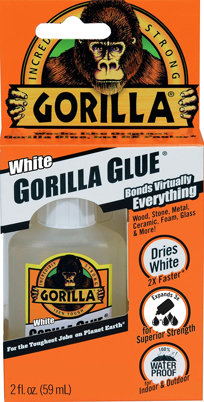Amazon Gorilla White Glue Waterproof 2 Ounce Bottle White