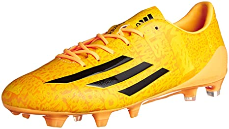 innovative design e0152 8fd67 sweden adidas f50 adizero fg messi oro color amarillo talla 44 0dc90 764da