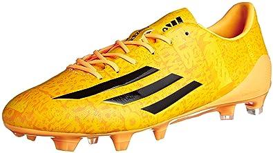 7e027603dc3 adidas Men s Football Boots Black and Gold negro y dorado - dorado yellow  Size  6