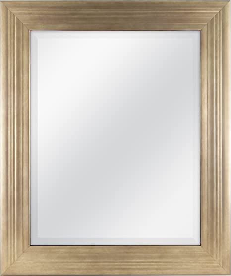 Gold MCS 16x20 Inch Ridged Mirror 20582 21x25 Inch Overall Size