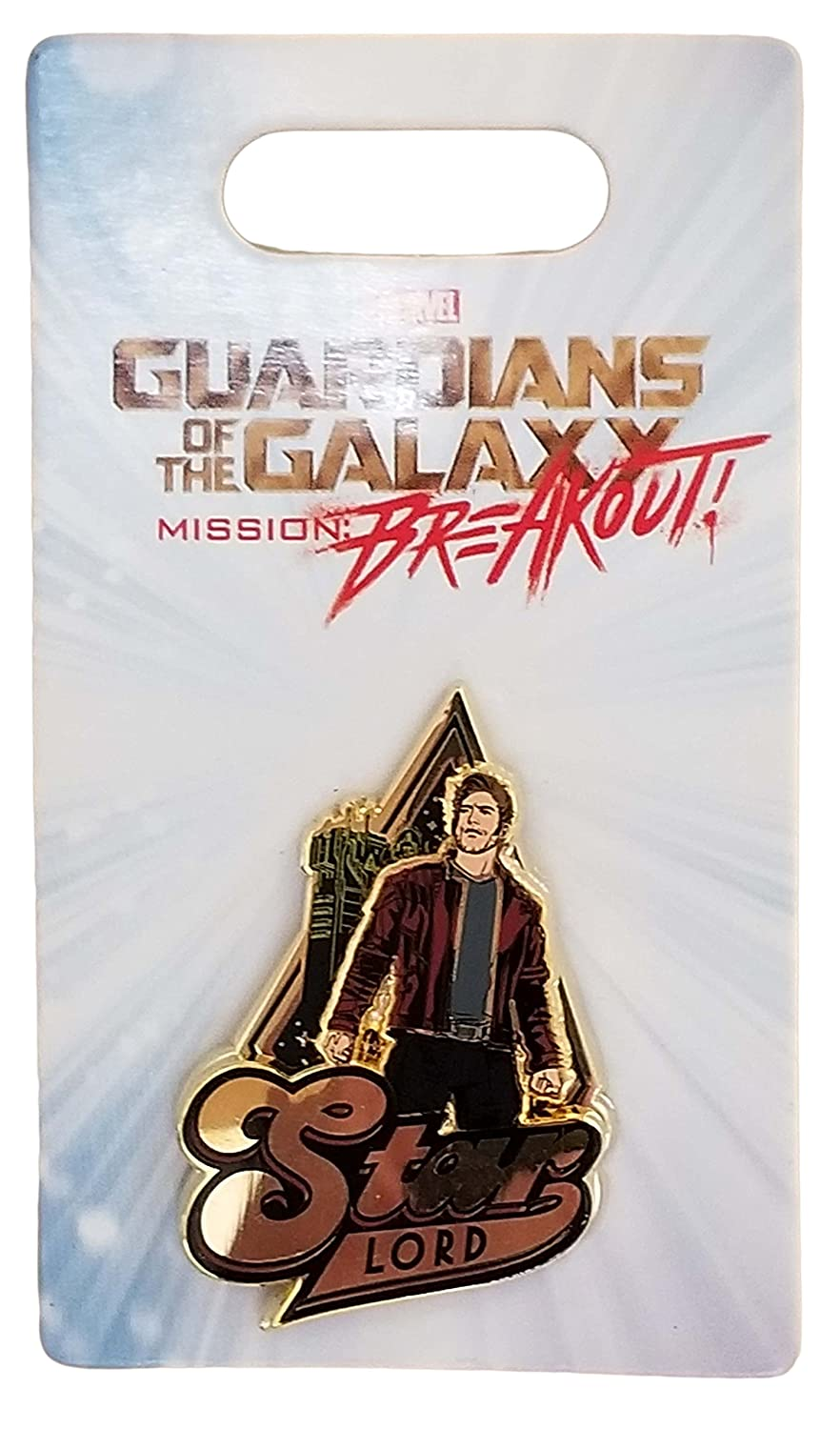 Disney Pin - Marvel Guardians of the Galaxy - Mission: Breakout - Star Lord