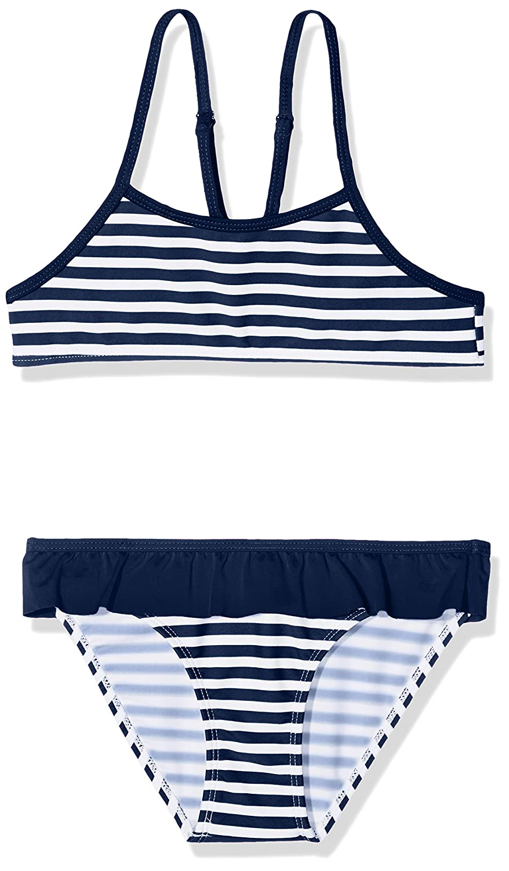LOSAN Bikini Bambina LOSAN 816-4982AN Blu (Marino Claro 378) 3 Anni