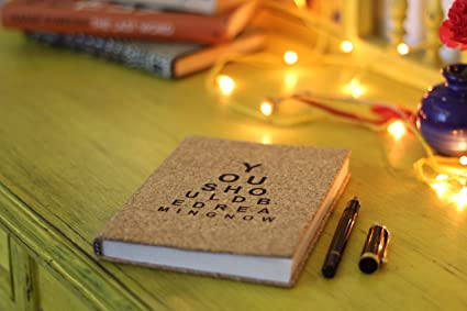 Amazon Com Kavi The Poetry Art Project Cork Notebook Notepad